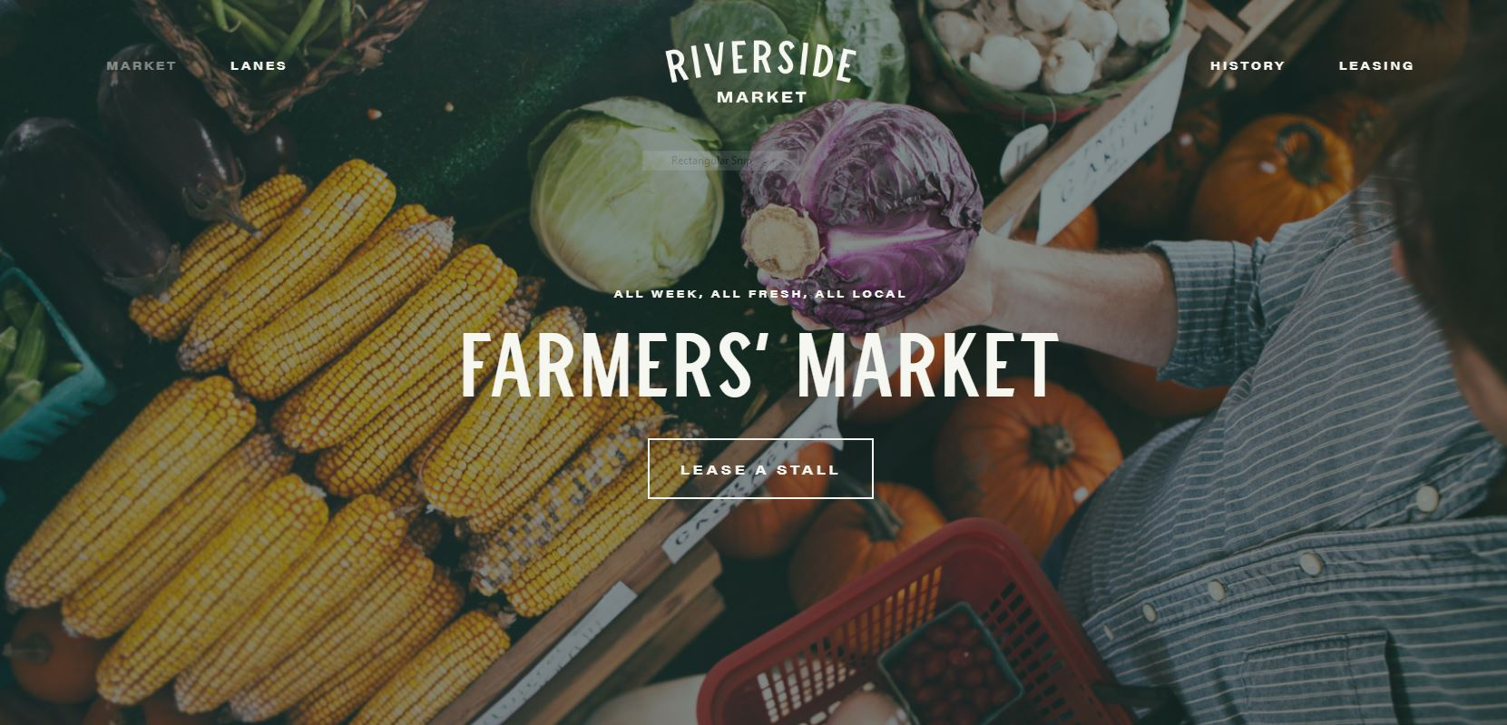We are getting excited about The Riverside Market